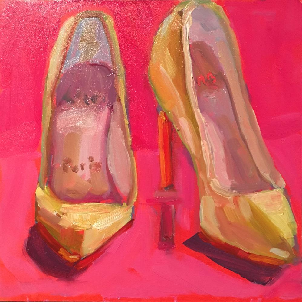 """Ooh La La!"" original fine art by Marcia Bergtholdt"
