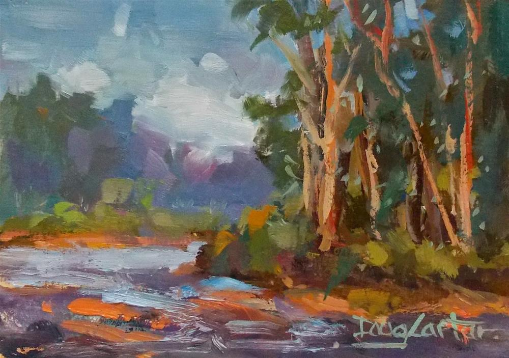 """STREAM"" original fine art by Doug Carter"