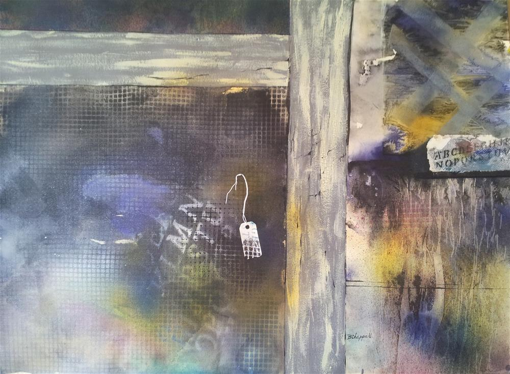 """Hidden Treasures of Highlands"" original fine art by Becky Chappell"