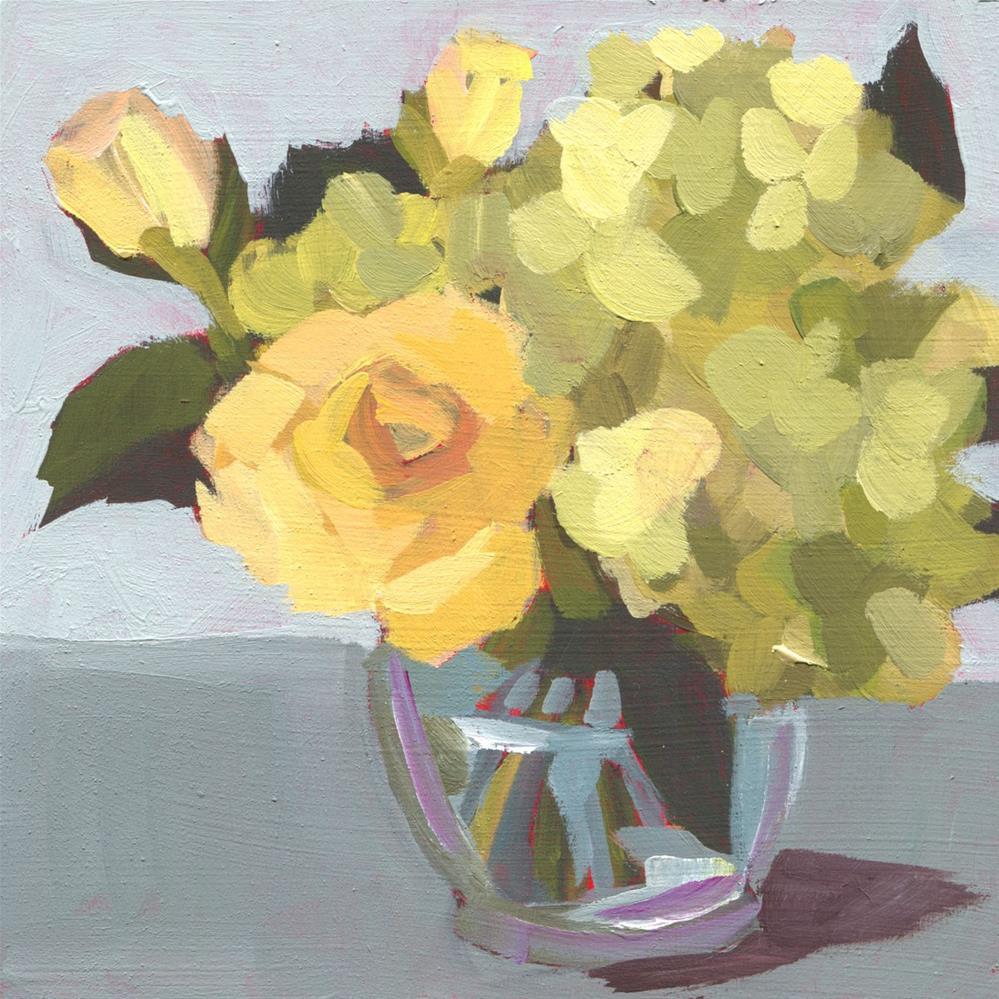 """""""Slice of Life (#466)"""" original fine art by Debbie Miller"""