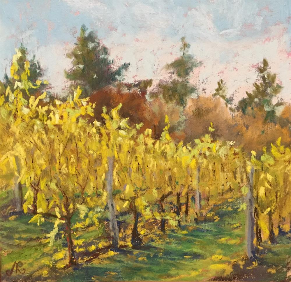 """Grapevines 2"" original fine art by Natasha Ramras"
