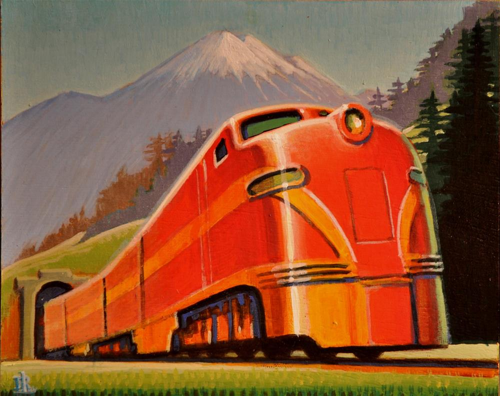 """Flyer"" original fine art by Robert LaDuke"
