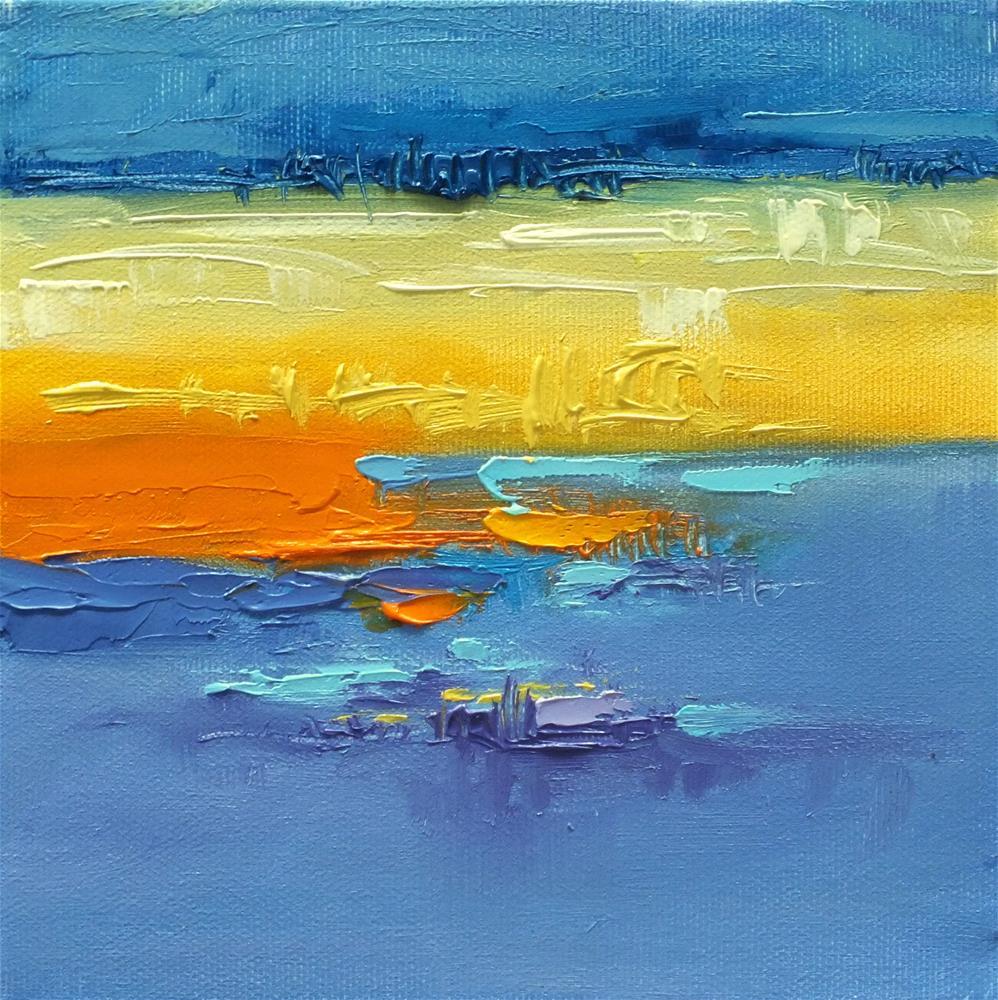 """Landscape 288"" original fine art by Ewa Kunicka"