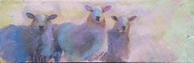 """Hey Ewe 3"" original fine art by barbara quast"