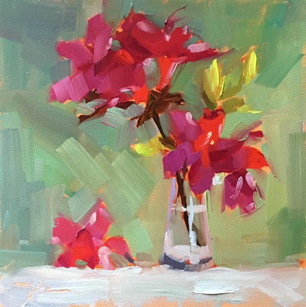 """Azalea"" original fine art by Katia Kyte"