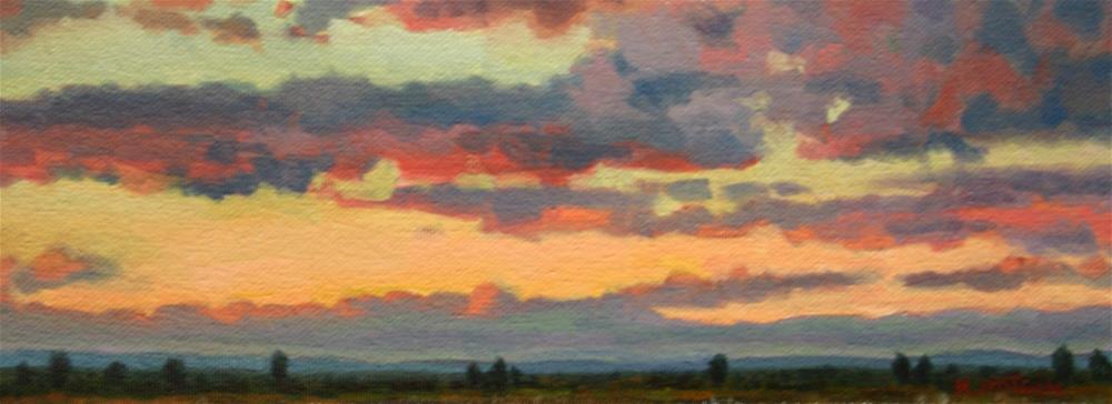 """""""Colorful Sublime"""" original fine art by K.R. McCain"""