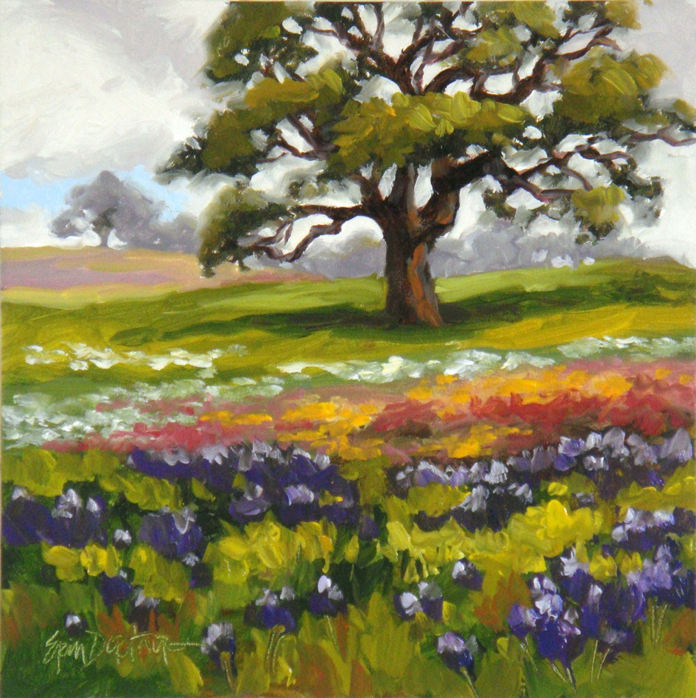 """Spring Carpet"" original fine art by Erin Dertner"