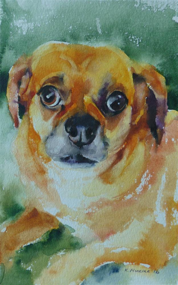 """adopt217"" original fine art by Katya Minkina"