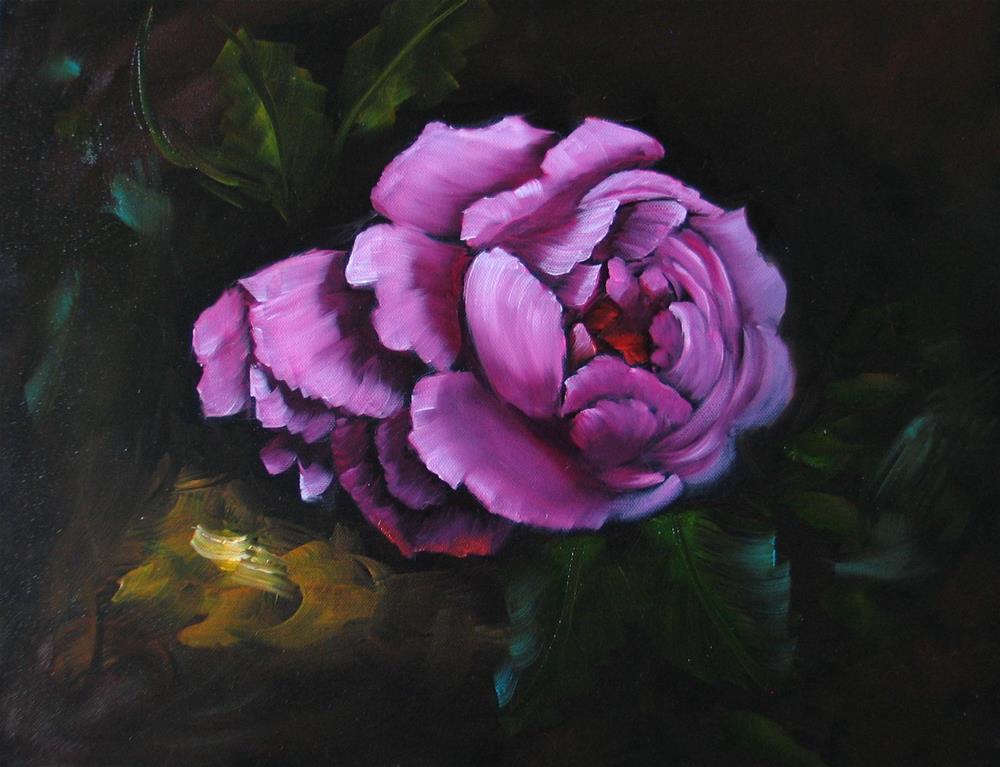 """English Roses"" original fine art by Richard St.Jean"