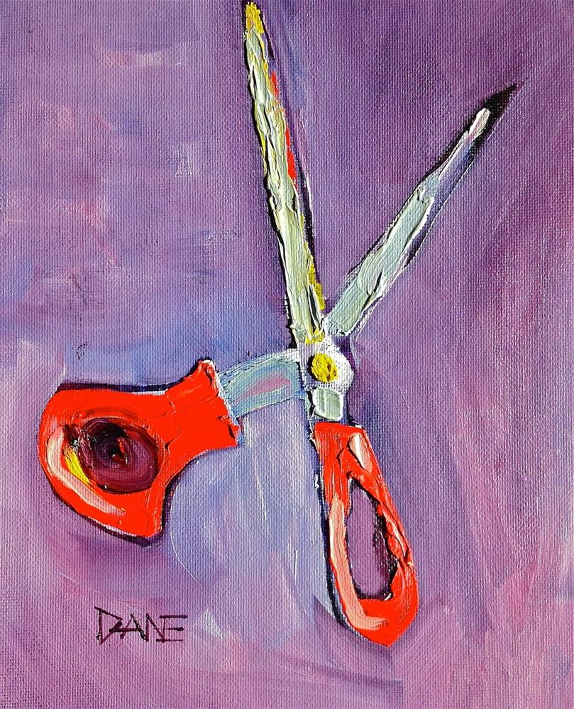 """Cut-Up"" original fine art by Dana Richards"