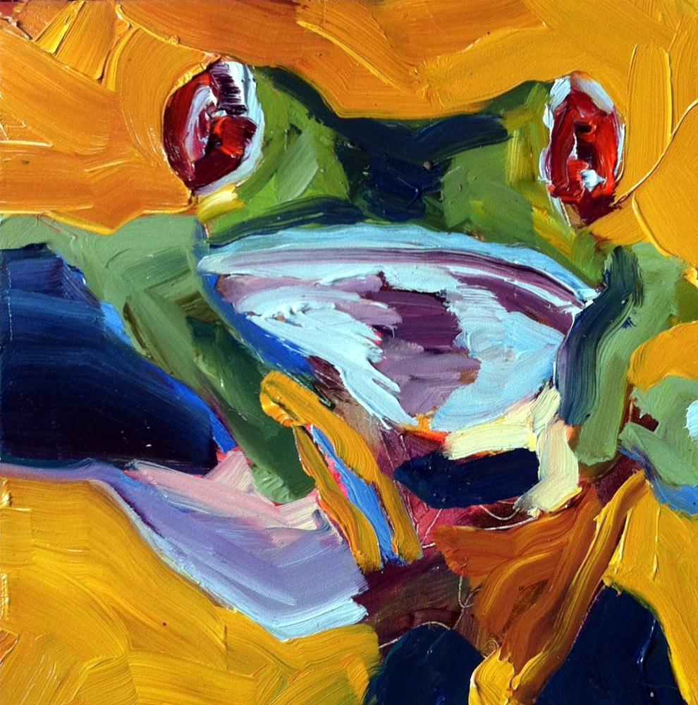 """""""Hangin Around"""" original fine art by Kristen Dukat"""