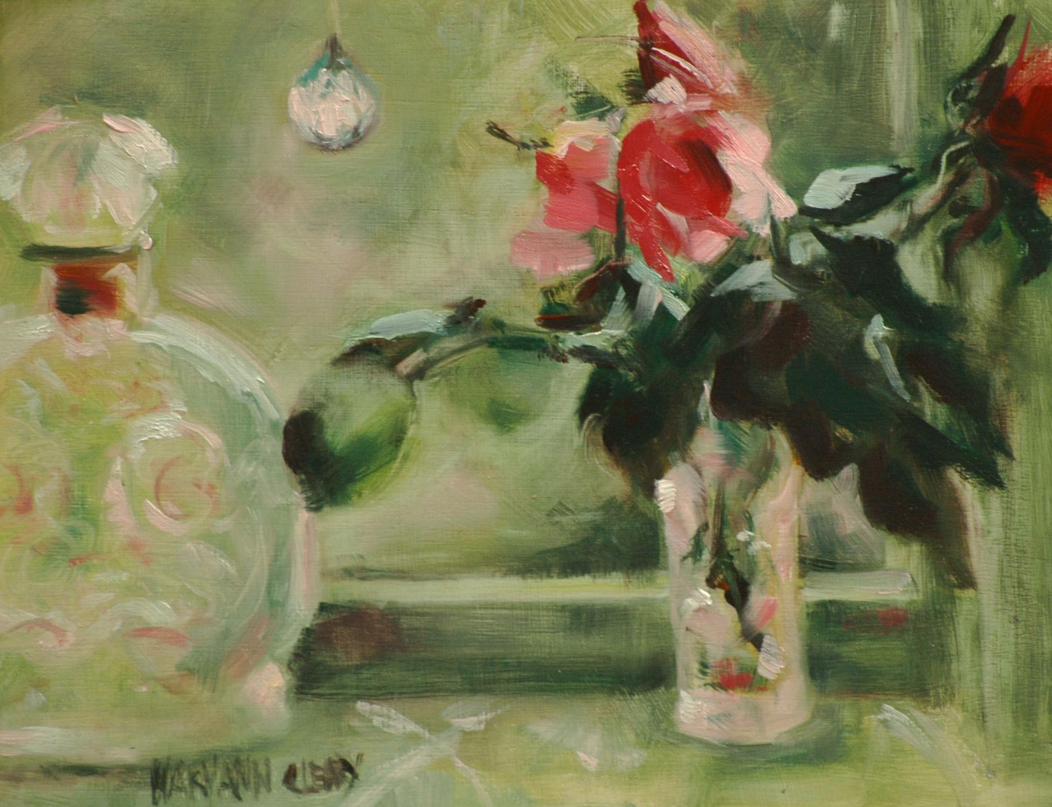 """The Window"" original fine art by Maryann Cleary"