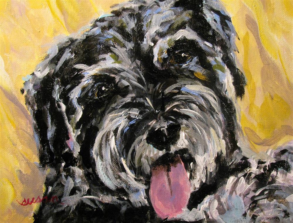 """Dewey Dexter"" original fine art by Susan Elizabeth Jones"