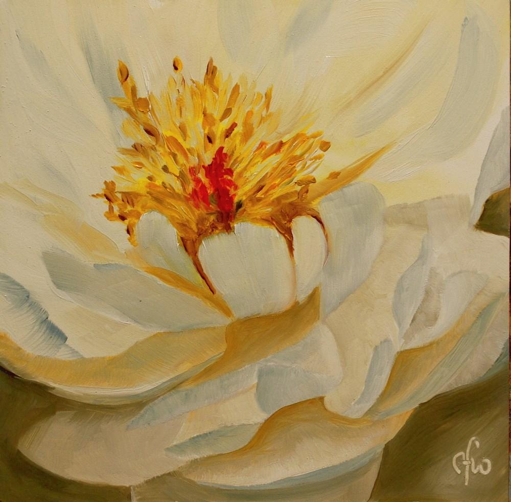 """Peony - Pastel Elegance"" original fine art by Gary Westlake"