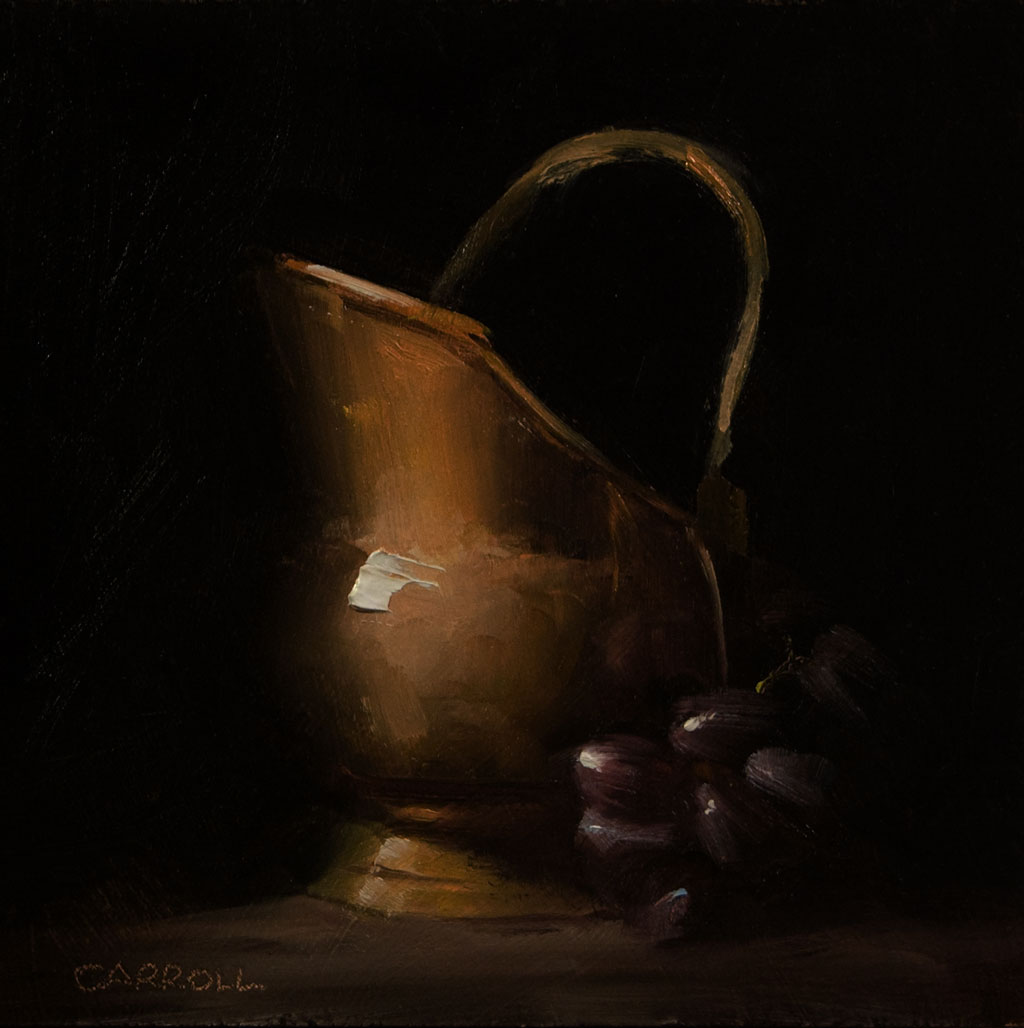 """Brass Jug"" original fine art by Neil Carroll"