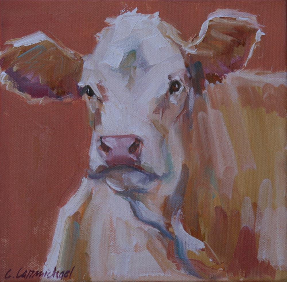 """cora bell"" original fine art by Carol Carmichael"
