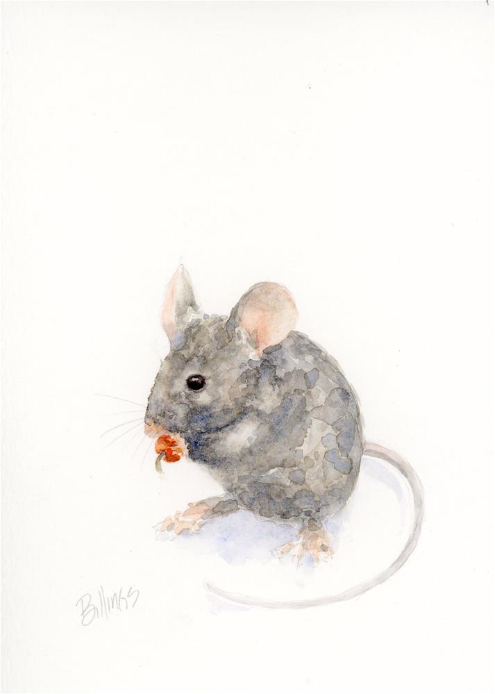 """""""A Mouse Study IV"""" original fine art by Susanne Billings"""