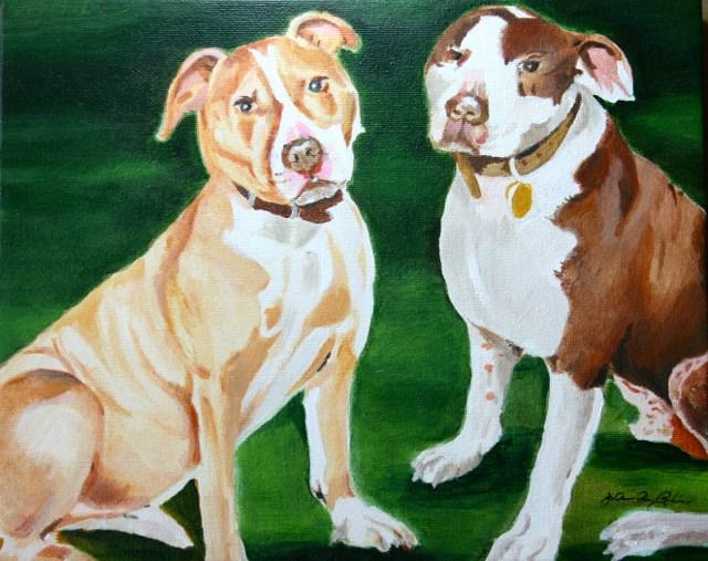 """Buddies"" original fine art by JoAnne Perez Robinson"