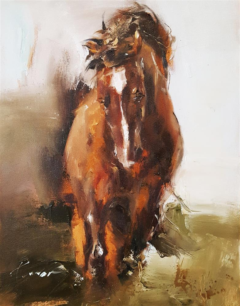 """She"" original fine art by Teresa Yoo"
