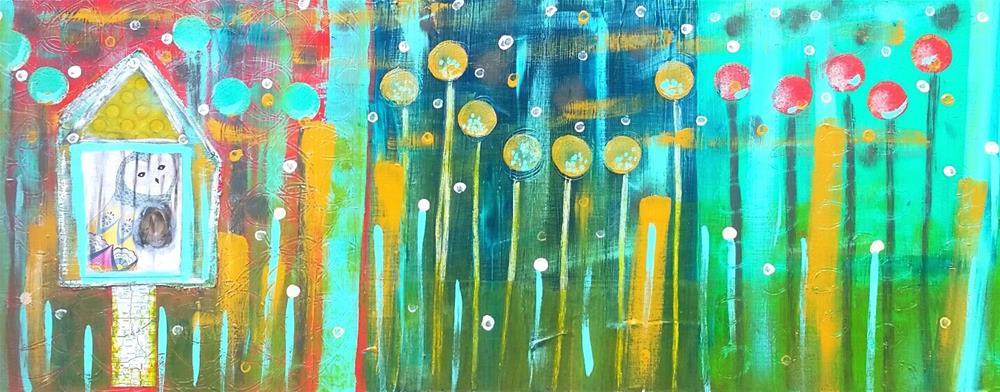 """Refuge"" original fine art by Christy Tremblay"