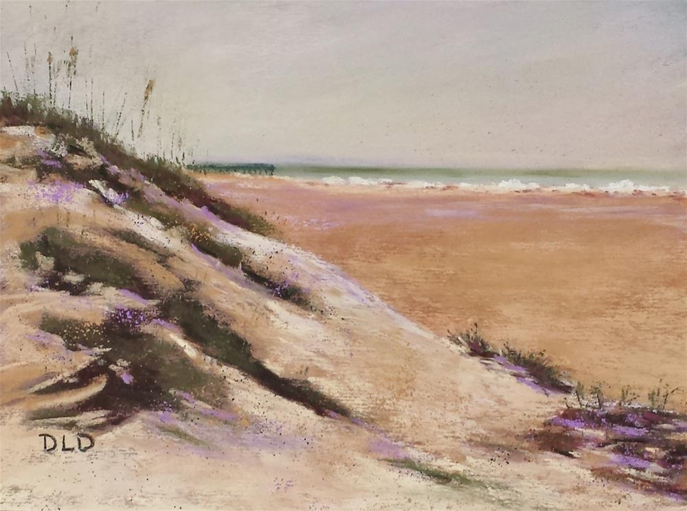 """""""Warm Sand"""" original fine art by Donna Donnon"""