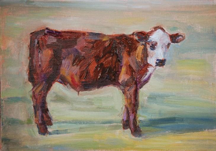 """Patches"" original fine art by Carol DeMumbrum"