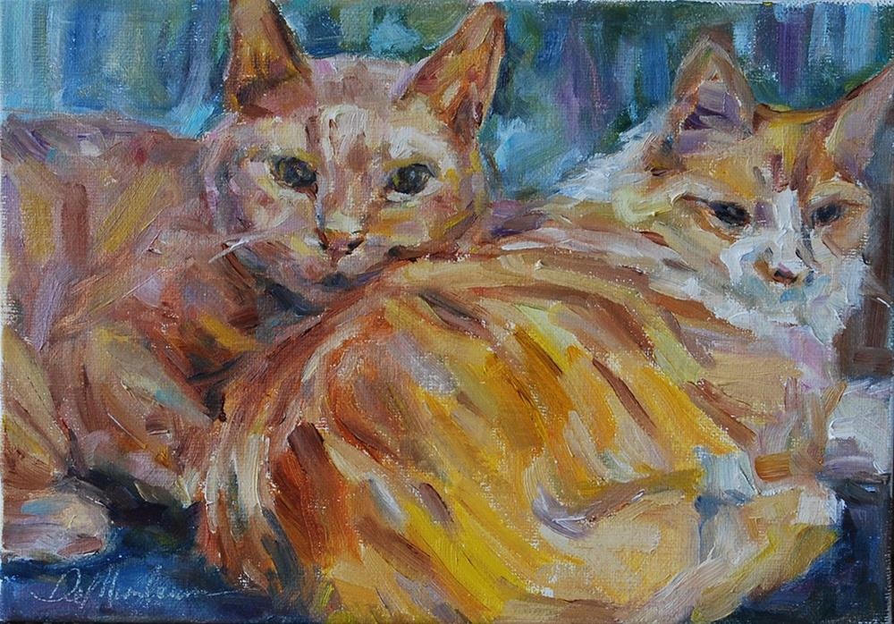 """Ollie and Effie"" original fine art by Carol DeMumbrum"