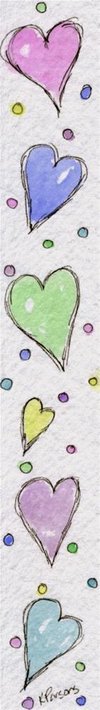"""Love..."" original fine art by Kali Parsons"