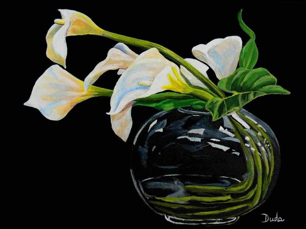 """Simple Elegance"" original fine art by Susan Duda"