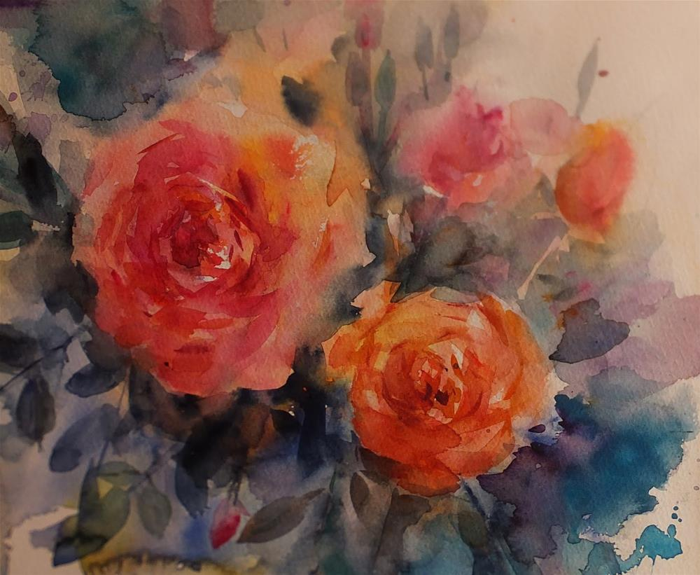 """July 2015"" original fine art by Midori Yoshino"