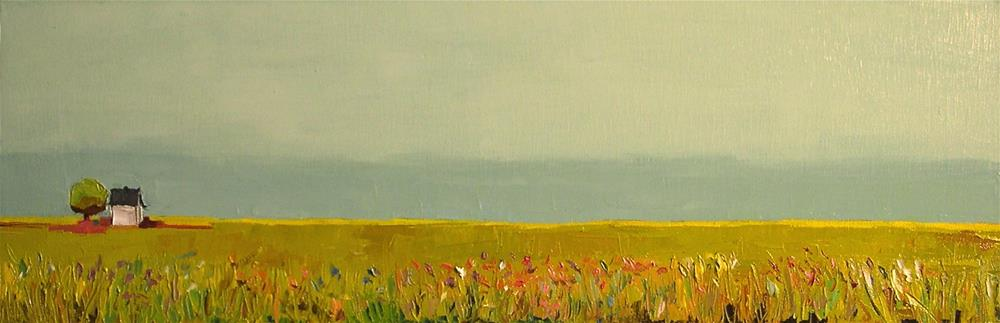 """In the Meadow"" original fine art by Donna Walker"