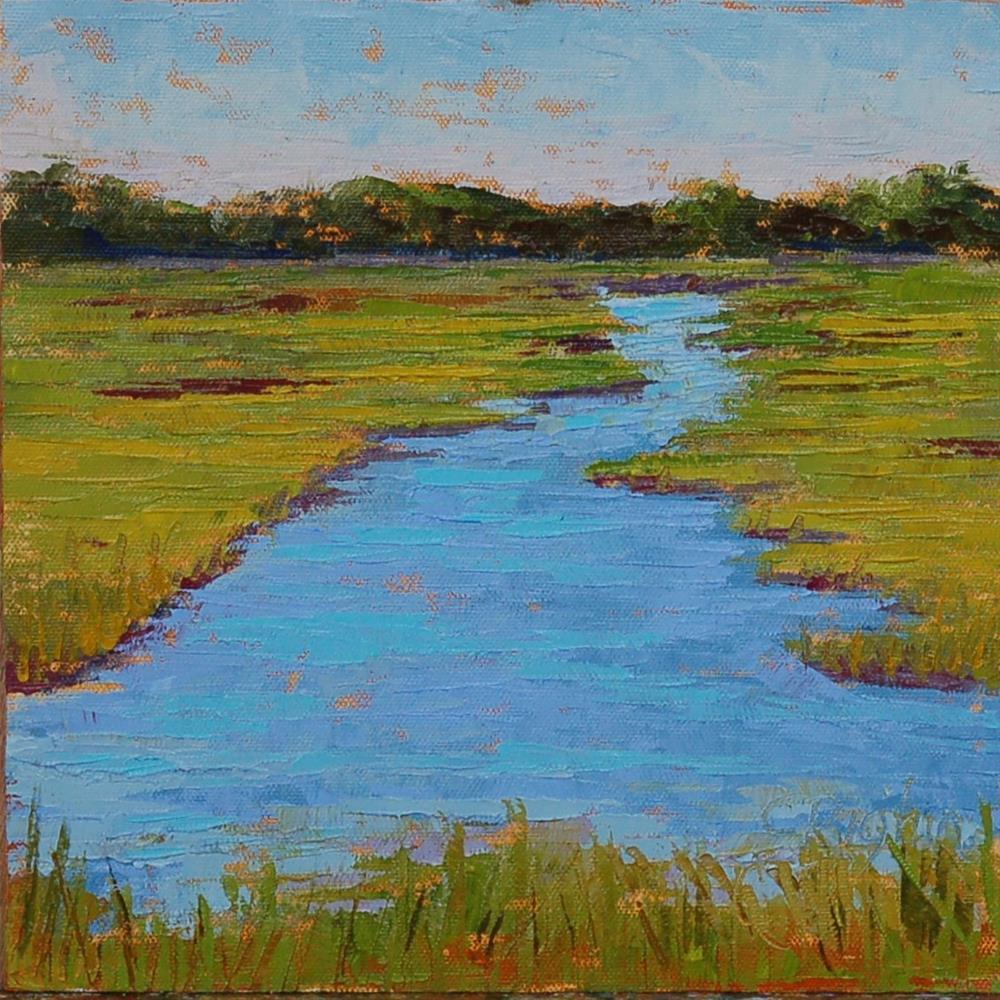"""Salt Marsh"" original fine art by Carol Pighin"