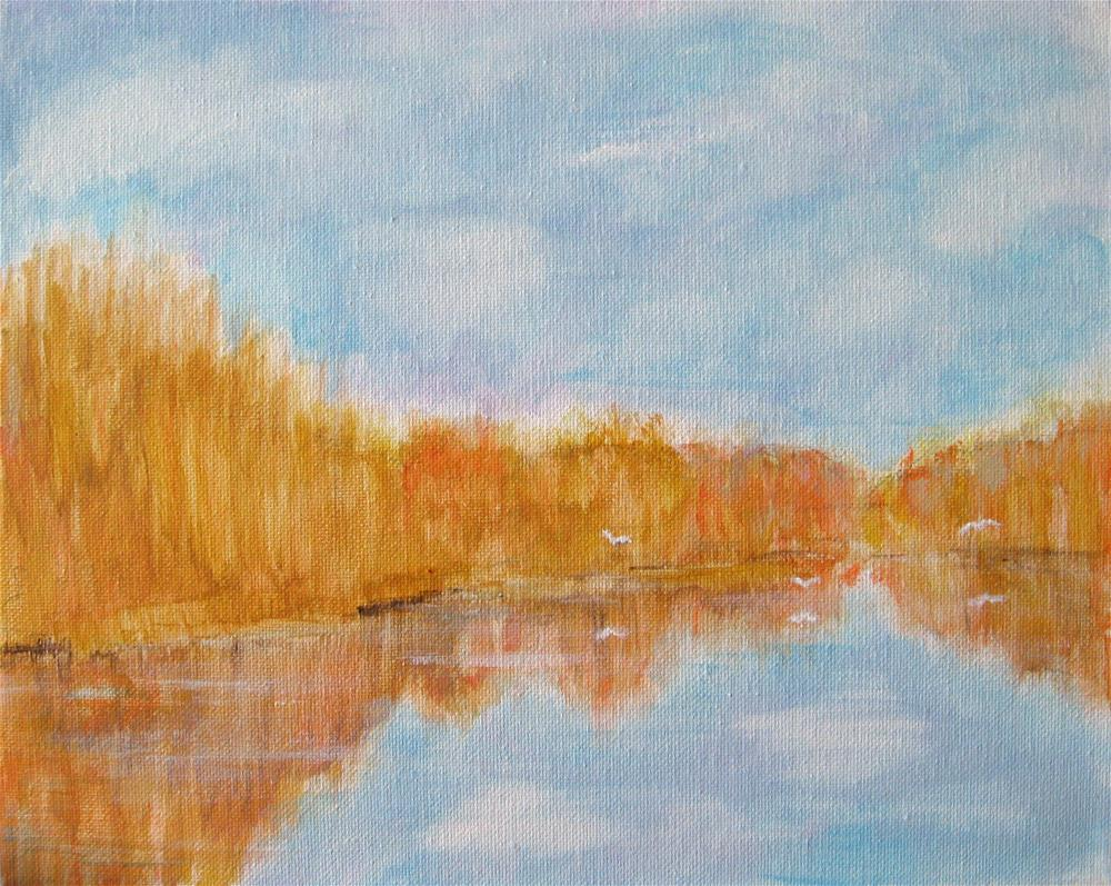"""In The Delta"" original fine art by Alina Frent"