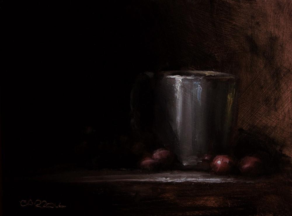 """""""Cup"""" original fine art by Neil Carroll"""