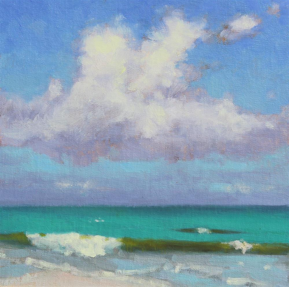 """""""Bahama Waters"""" original fine art by Colleen Parker"""