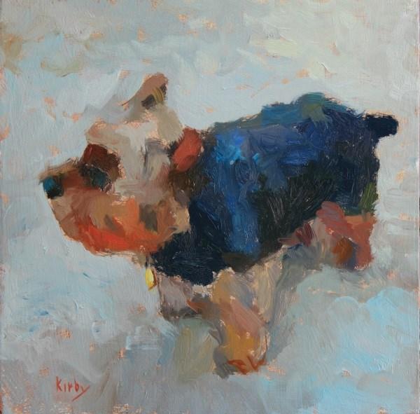 """Scrappy the Pirate Dog"" original fine art by Randall Cogburn"