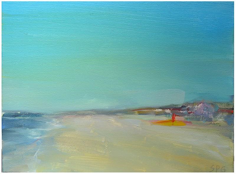 """Cape Cod beach"" original fine art by Steven Goodman"