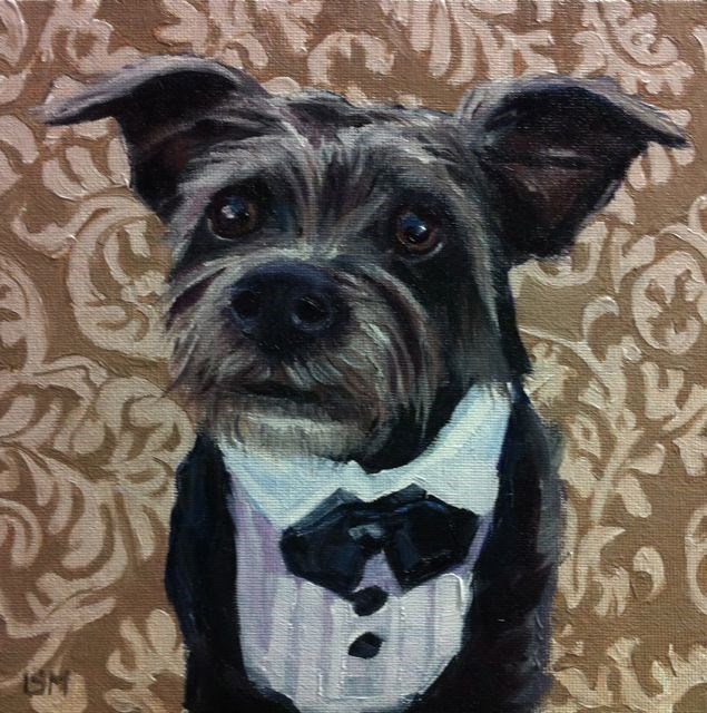 """Stevie"" original fine art by Linda Marino"