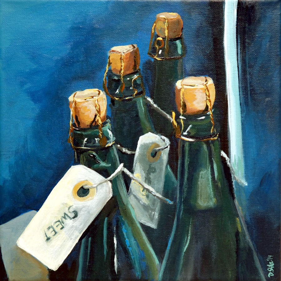 """0930 Sweet Cidre"" original fine art by Dietmar Stiller"