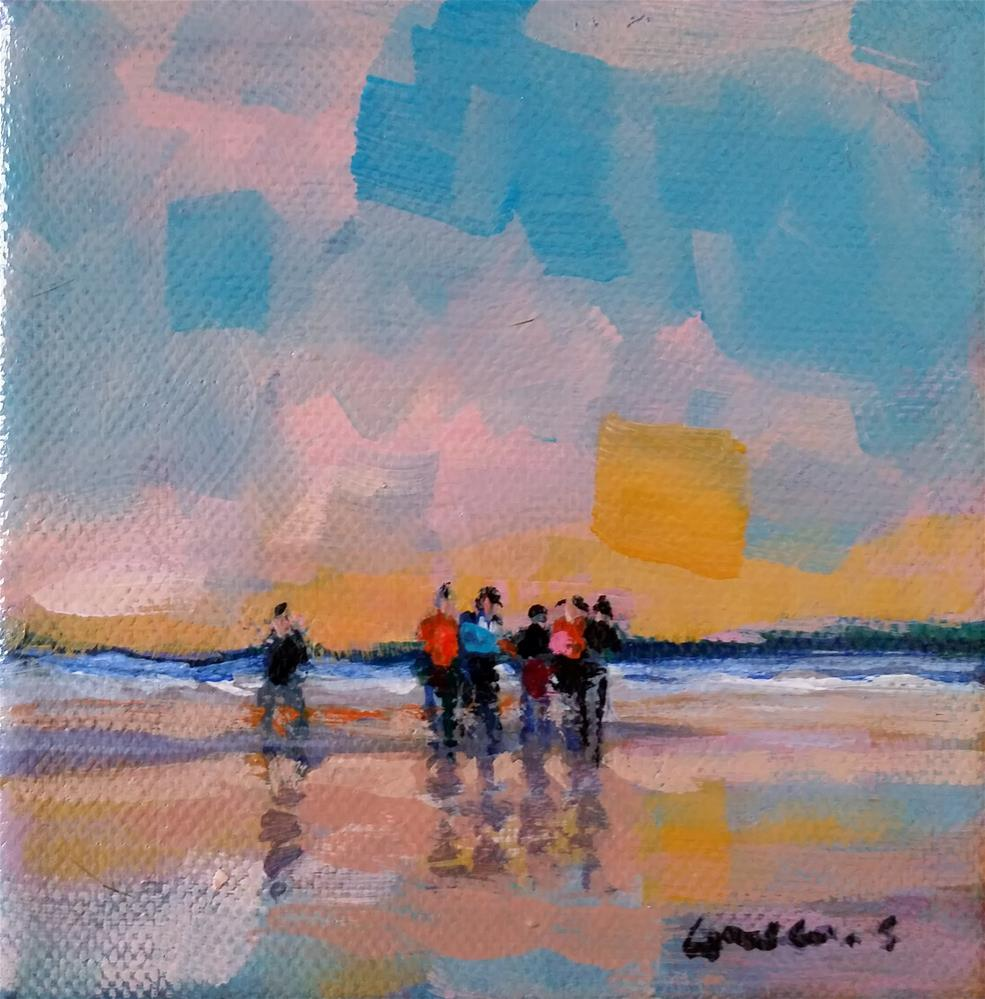 """seascape"" original fine art by salvatore greco"