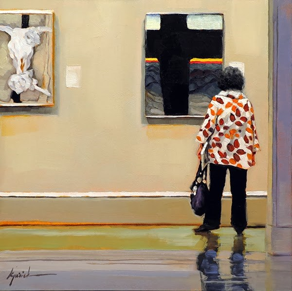 """Cross Examination"" original fine art by Karin Jurick"