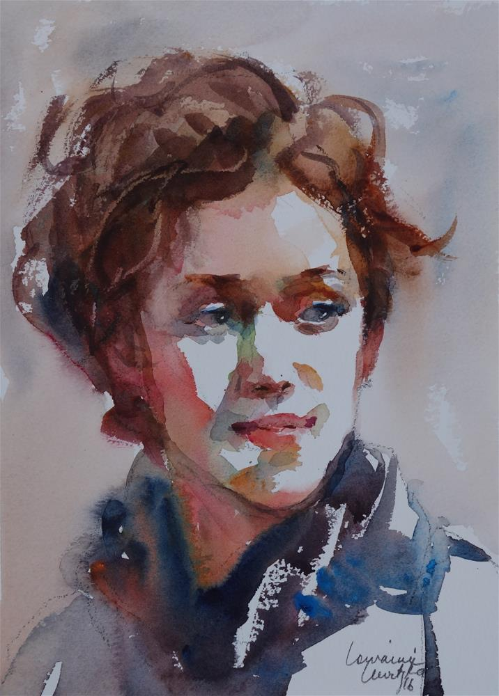 """Observant"" original fine art by Lorraine Lewitzka"