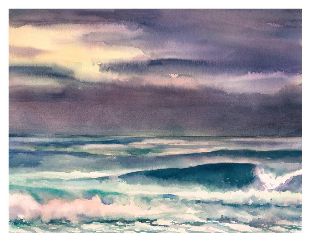 """After the Storm"" original fine art by Suzanne Woodward"