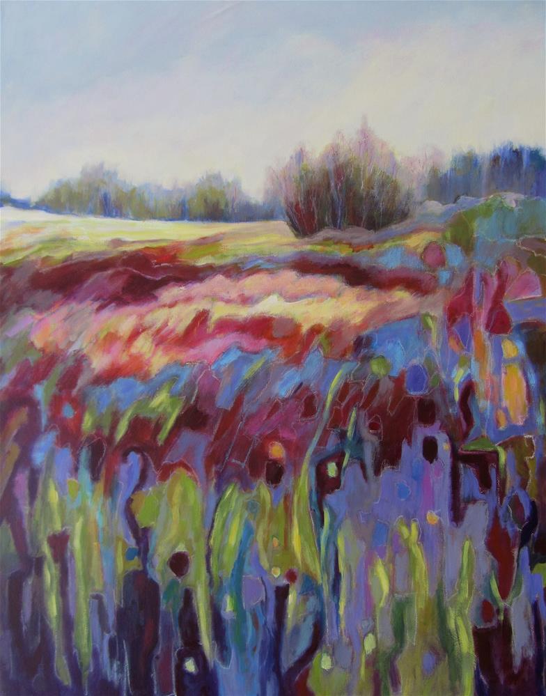 """Colourfield I"" original fine art by Patricia MacDonald"