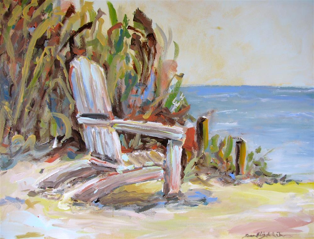 """Sea Grove"" original fine art by Susan Elizabeth Jones"