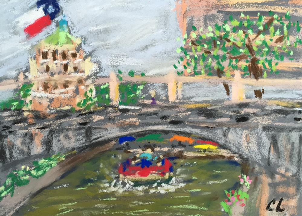 """Going Big in San Antonio (plein air)"" original fine art by Cheree Apalona Lueck"
