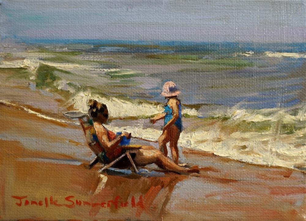 """""""A New Seashell"""" original fine art by Jonelle Summerfield"""