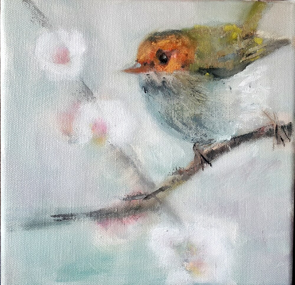 """Spring has sprung"" original fine art by Rentia Coetzee"