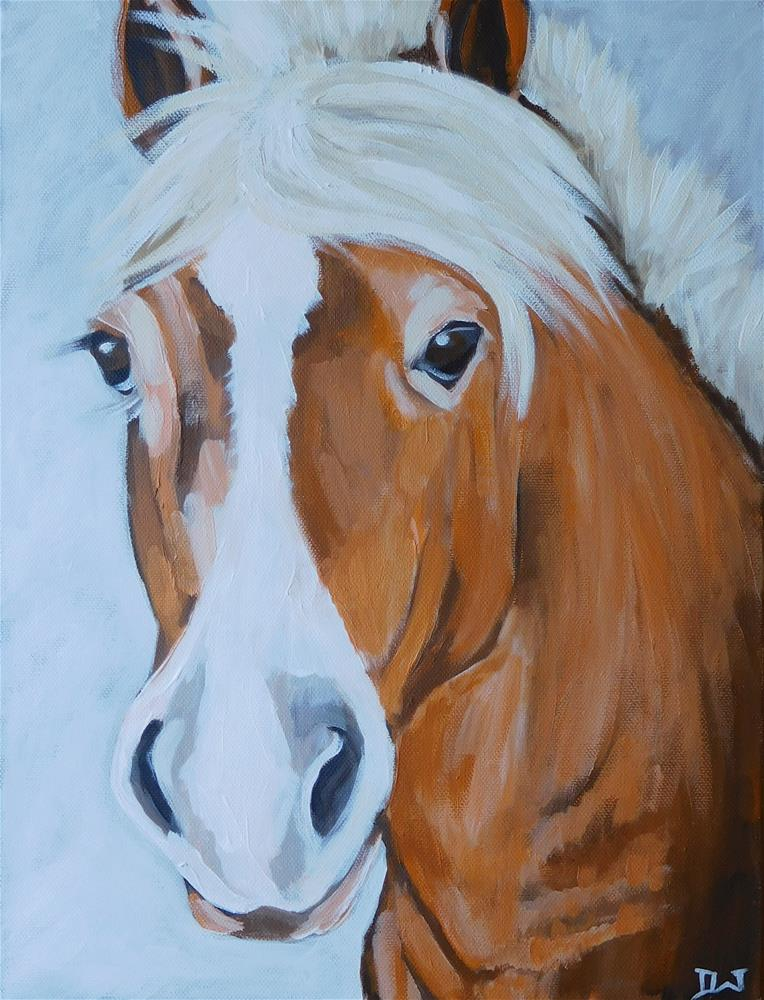 """H is for Horse"" original fine art by Daryl West"
