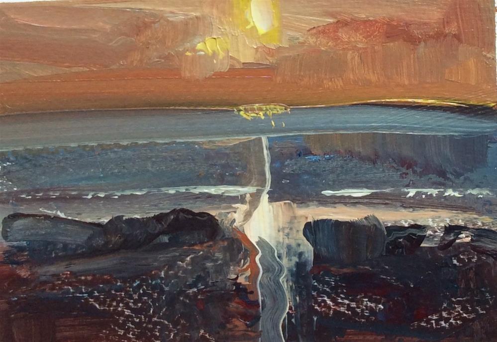 """Impressions"" original fine art by Anne Wood"
